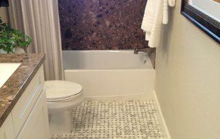 Custom tiled Bath and Shower