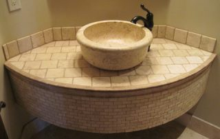 stone vanity by carefree floors