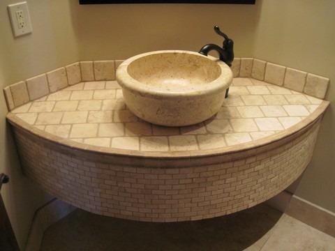 stone vanity by carefree floors