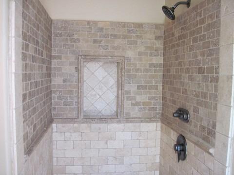 Bathroom stone tile - Carefree Floors