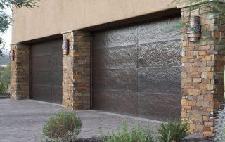 Garage pavers