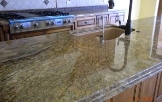 Granite Counter tops installed by Carefree Floors