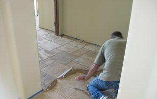 Professionally Hand Cut and Installed Tile