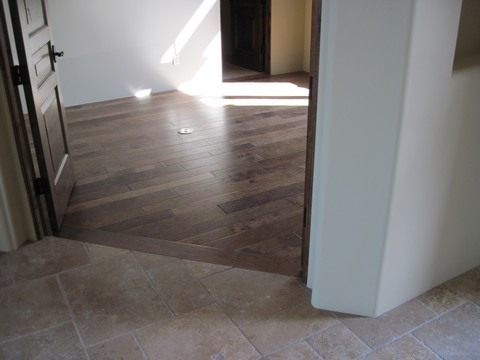 Floors Wood-Look Tile -- Carefree Floors