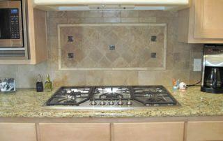 Granite Counter tops before