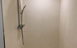 Modern, Clean- Lined Shower