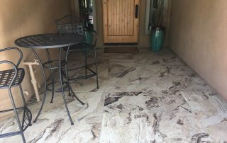 Porcelain Tile Outdoor Front Entryway