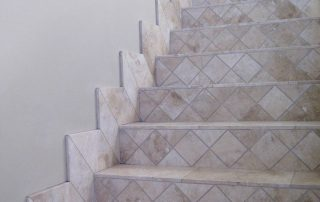 Travertine Custom Stairs