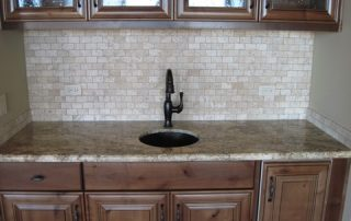 Travertine Tiles, Wood & Granite
