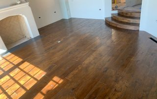 Wood Floors & Custom Made Stairs