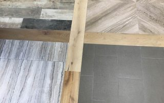 Wood Look Tile & Wood Office Floor Samples