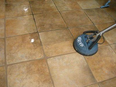 restoring tile floor