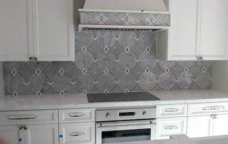 Tile Kitchen Back splash ideas from Carefree Floors