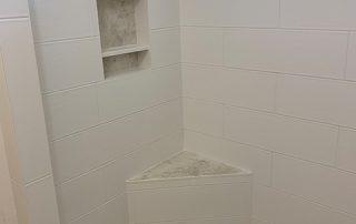Custom Tile Shower Enclosure Bird Deco Tile Troon North