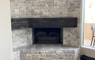 Stone Fireplace Troon North